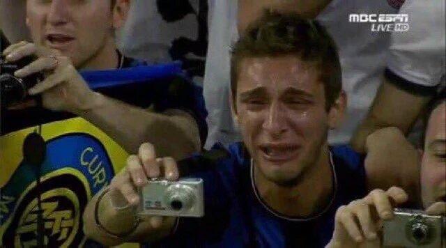 Schalke fans when Leroy Sané scored last night