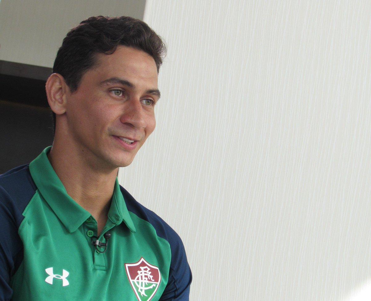 Ganso: 'Será um dia muito especial. Estou ansioso, estou feliz de poder voltar, entrar em campo, jogar futebol. Quero entrar e me divertir, com muita alegria, com meus companheiros.'   📷 Felipe Siqueira