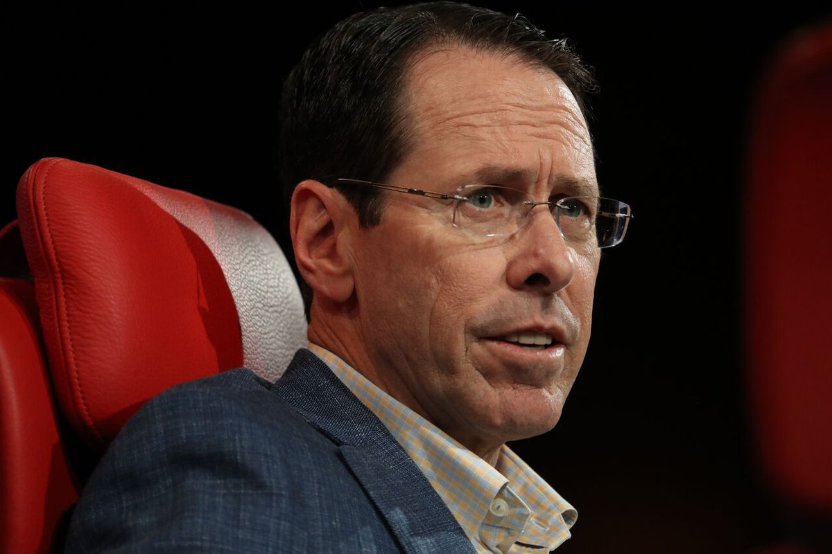 Full Q&A: AT&T CEO Randall Stephenson on Recode Media