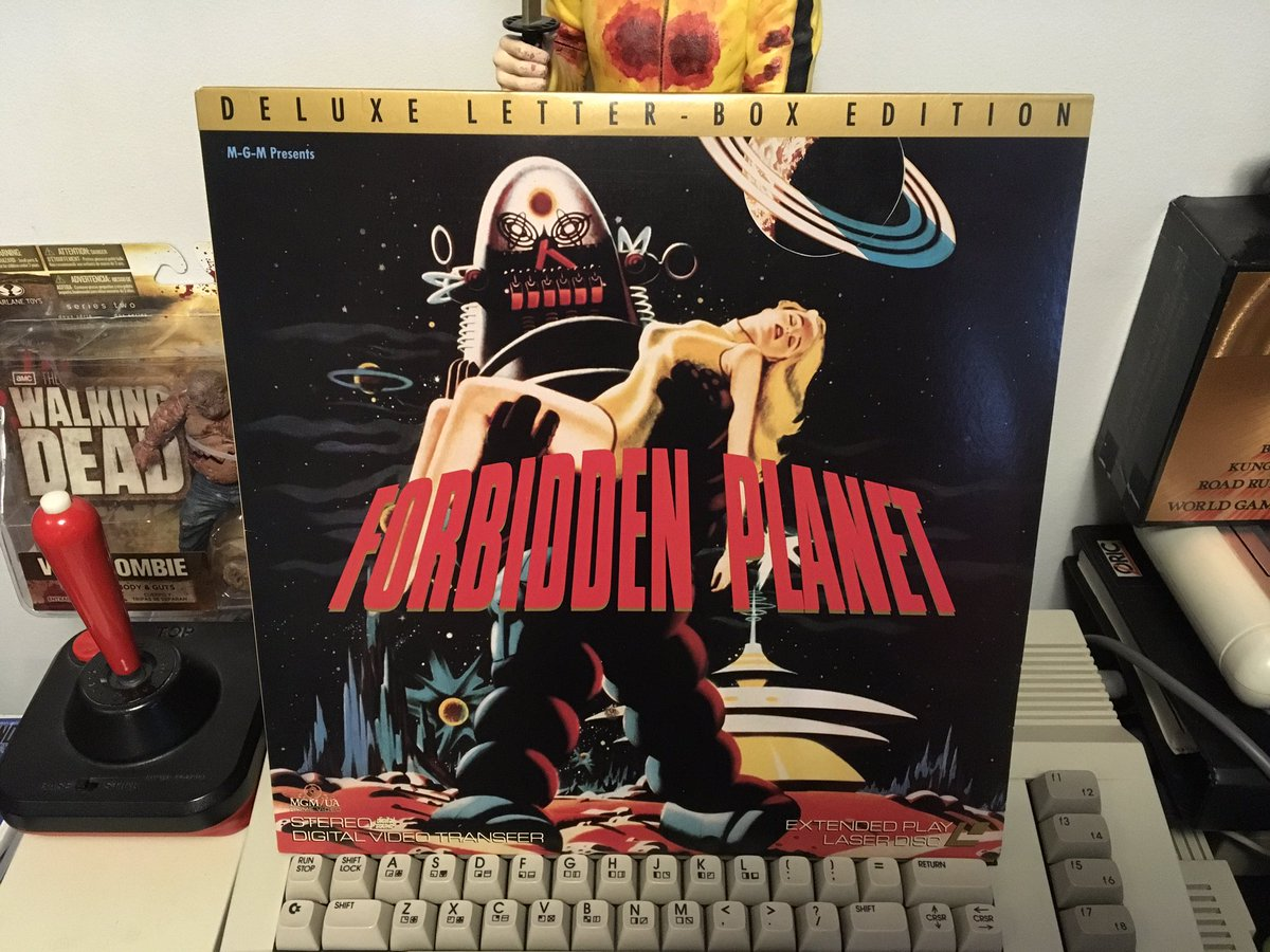 test Twitter Media - Forbidden Planet - LASERDISC - Action, Adventure, Sci-Fi Movie - 1956 🎥 🍿 💪😀👍 #movieoftheday #movie #movies #cinema #film #video #videos #goodmovie #goodmovies #hollywood #flick #flicks #theatre #cine #forbiddenplanet #laserdisc #scifimovies #retrogamer #retrocollective https://t.co/aNVaQneNfd