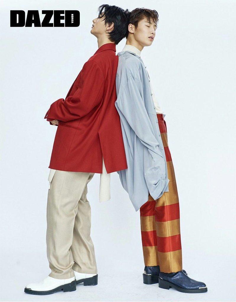 HYUNJIN &amp; JEONGIN STRAY KIDS FOR DAZED KOREA<br>http://pic.twitter.com/PhtcbViSx3
