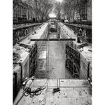 Image for the Tweet beginning: Canal Saint-Martin Paris on this