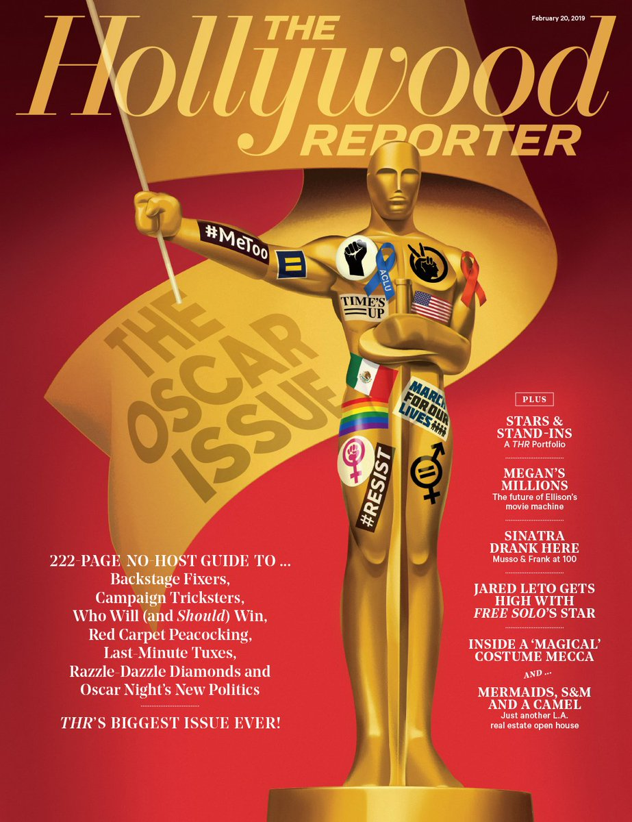 Pick up your copy of this year's #Oscars issue thr.cm/CM6QMq