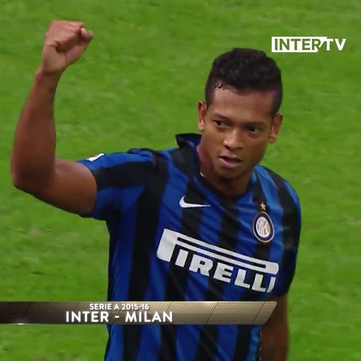 Carrying that power over from Colombia, @fguarin13! 🔥🇨🇴  #ForzaInter ⚫️🔵 https://t.co/lVtfZgNZwJ