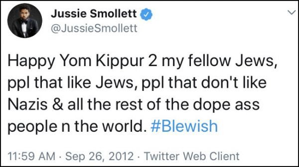 buhahaha you mean all  we Deplorable #Trump supporters have to do is go to our local Family Dollar to fabricate fraud? Who did Jussie mean by &quot;Nazi&#39;s&quot; or did he mean Nigerians?  <br>http://pic.twitter.com/OmKyuXFFur