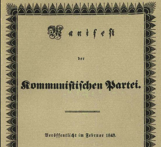 HISTORY: On this day in 1848, Karl Marx and Friedrich Engels published The Communist Manifesto.