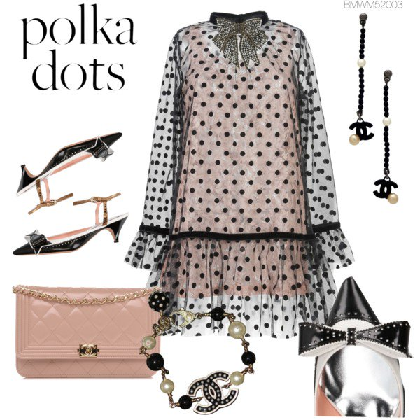 polka dot created on http://fashmates.com @bmwm52003 #fashionsummer #americanbeauty #retrosunglasses #fashionstyle #fashionweek #festivalfashion #dress #earring #necklace #sandals #bag #fashiontage #nyfw #NCAA #festivaloutfit #happyhour