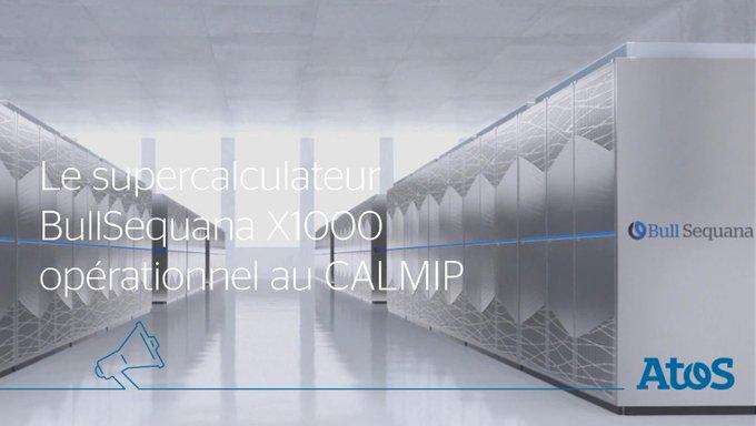 Fiers d'annoncer que notre #Supercalculateur #BullSequana X1000 est désormais opérationnel a...