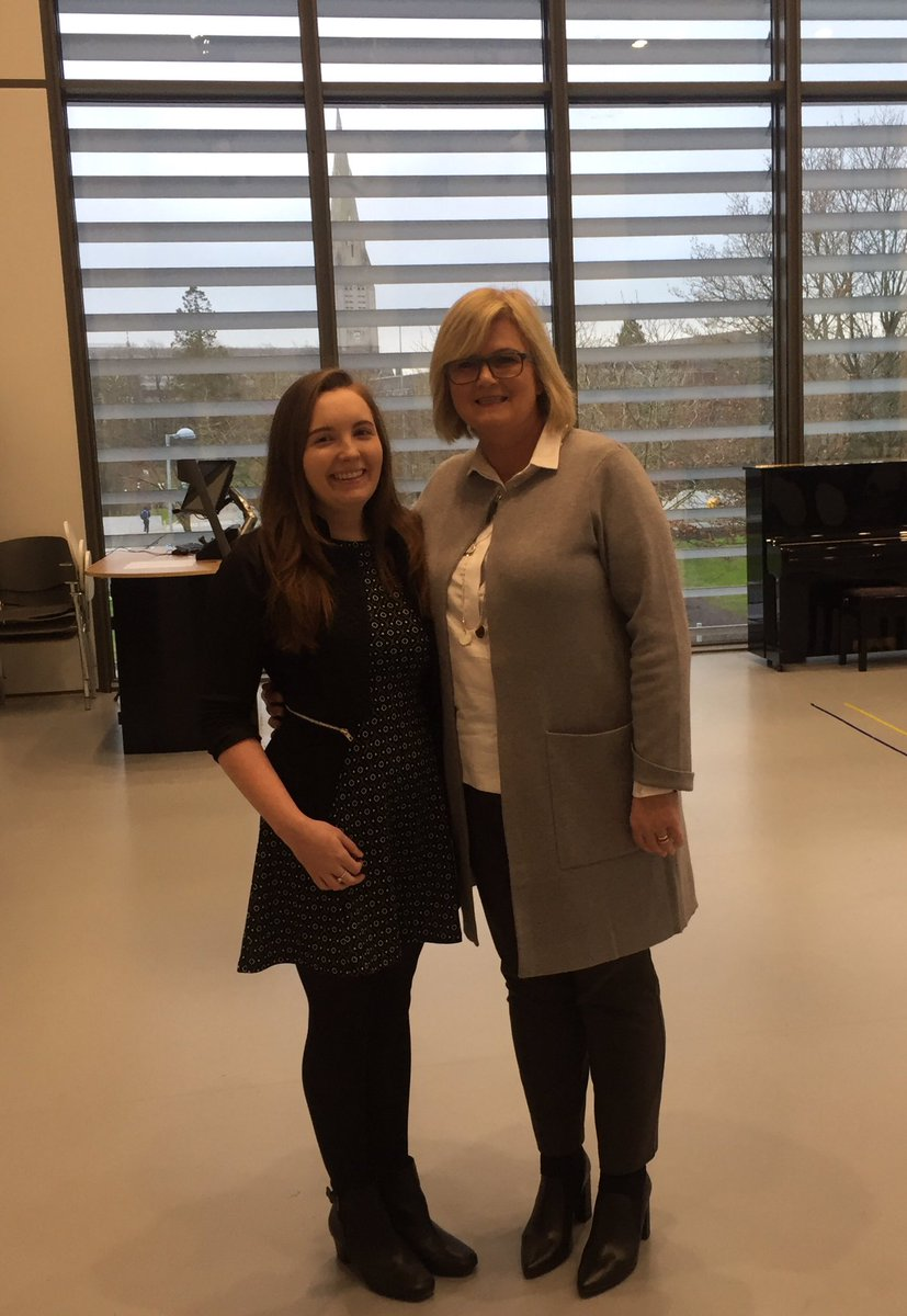 Our #BScEd was well represented by @Aishling_4 who spoke to @McHughJoeTD and @mitchelloconnor about her undergraduate BScEd and her PME journey to #teaching Both ministers praised our community, warmth, rigor and student centered approach to teaching and learning @gomaynooth