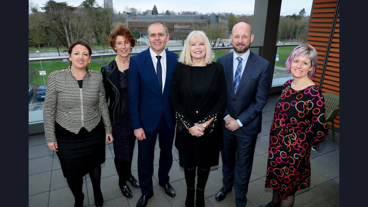 A special and inspiring morning, with @McHughJoeTD and @mitchelloconnor opening the new @MaynoothUni School of Education, bringing @froebelMU @MU_Education @mu_aced and our Centre for Teaching and Learning together to build connections across the education continuum