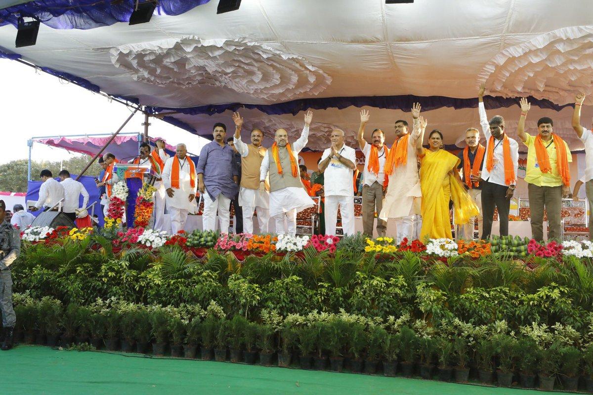 Glimpses from the Shakti Kendra Pramukh Sammelan in Devanahalli, Karnataka.