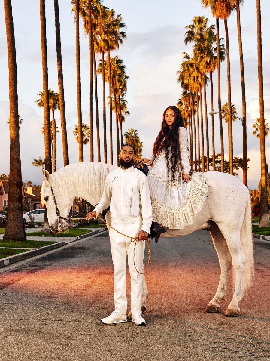 test Twitter Media - RT @GQMagazine: California love with @NipseyHussle and @LaurenLondon https://t.co/Mu8GpCejAR https://t.co/CbW85KDmRy