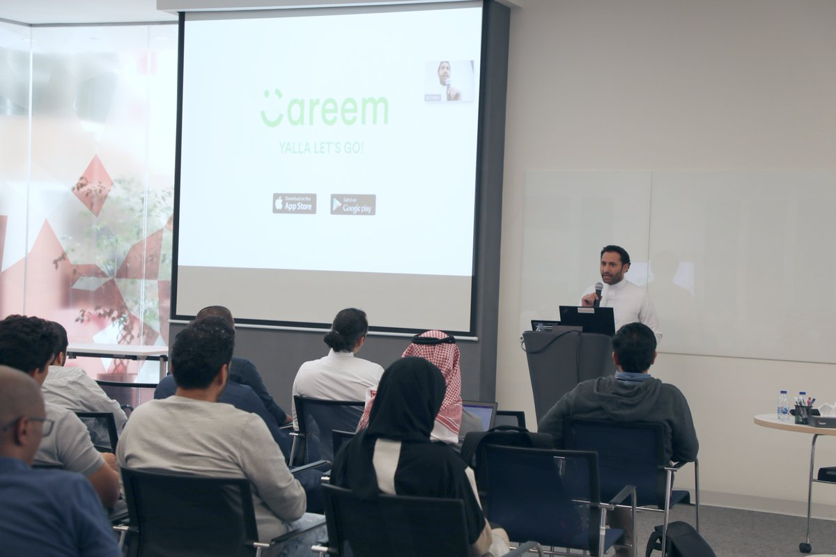 test Twitter Media - We had the pleasure of having Dr. Abdullah Elyas, co-founder at Careem, sharing with us all the lessons learnt and values from Careem's journey over the years! https://t.co/xe8IY0DDjM
