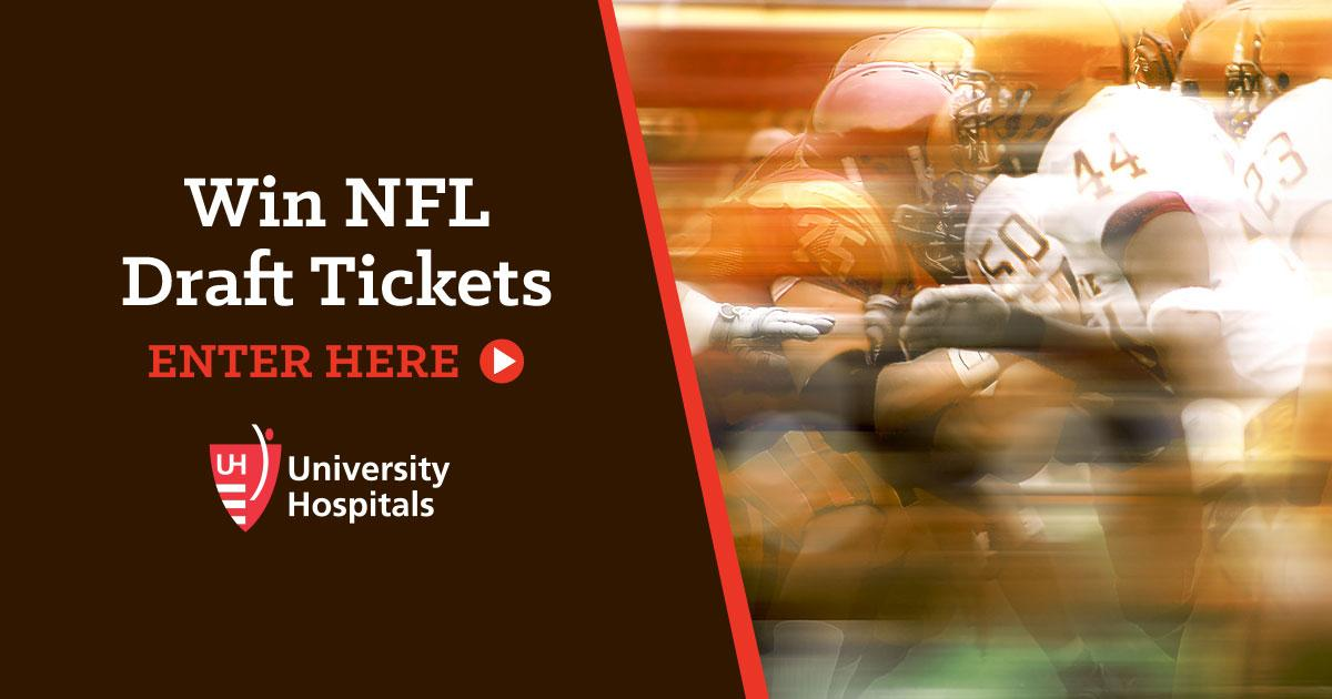 You could win a trip for 2 to the 2019 #NFLDraft in Nashville!   Grand prize includes:  • Hotel room • 2 roundtrip flights  • AND the opportunity to attend the press conference for our 1st-round pick the next day!  Enter »  https://t.co/yf2sCLi6yJ