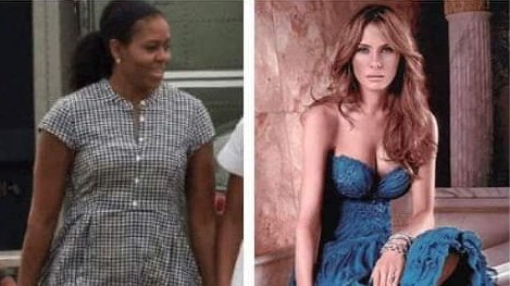Michelle Obama can&#39;t be to happy that the hottest first lady in history was her successor... #AliensAreProbablyThinking #MAGA #tcot #FoxNews  #thursdaymorning #ThursdayMotivation<br>http://pic.twitter.com/BlnnKv3ZOj
