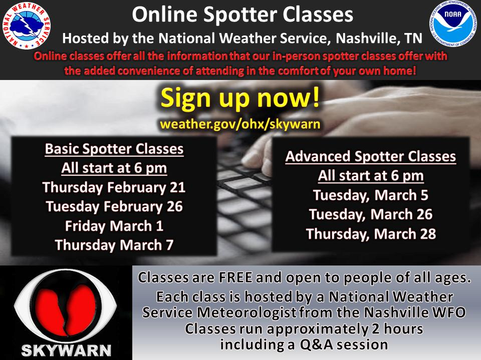 Did you know you can attend our online #SKYWARN spotter class and not have to sit in front of your PC or Mac for an hour? Register here: https://t.co/A4bO3ASAz5, then download the GoToMeeting app onto your phone or tablet and enter your registration number.  It's that simple!