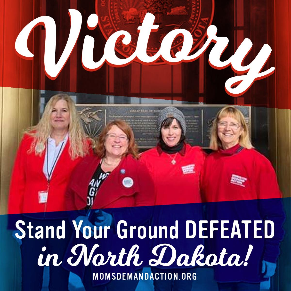 """IT'S WORKING: Lawmakers voted down legislation that would have made North Dakota a so-called """"Stand Your Ground"""" state. """"Stand Your Ground"""" laws allow a person to kill another person in a public area even when they can clearly and safely walk away from the danger.  Great job, ND!"""