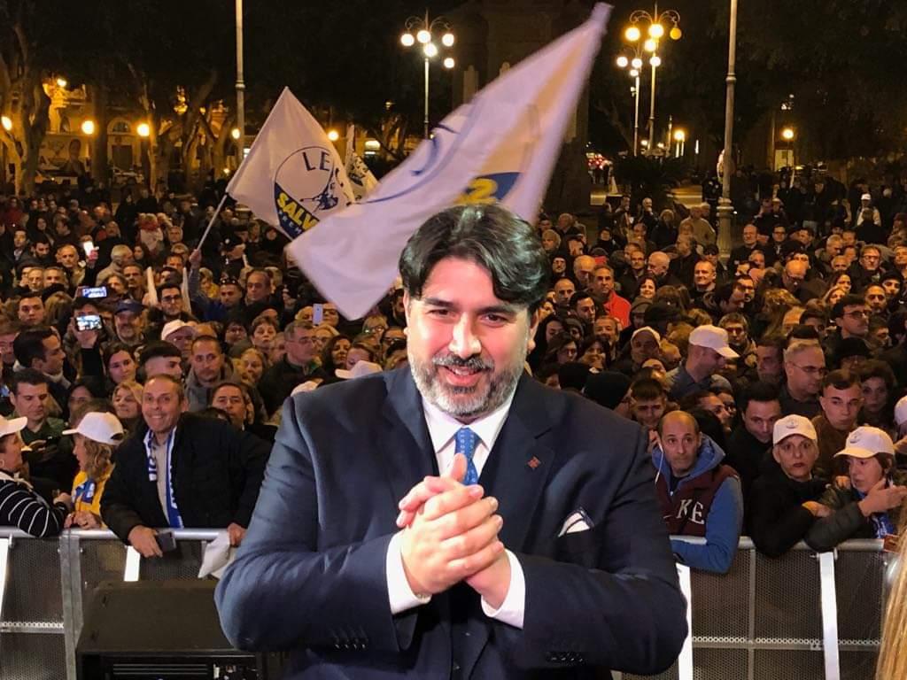 In Piazza del Carmine con @matteosalvinimi, insieme per la Sardegna  #regionali2019 #votachristiansolinas