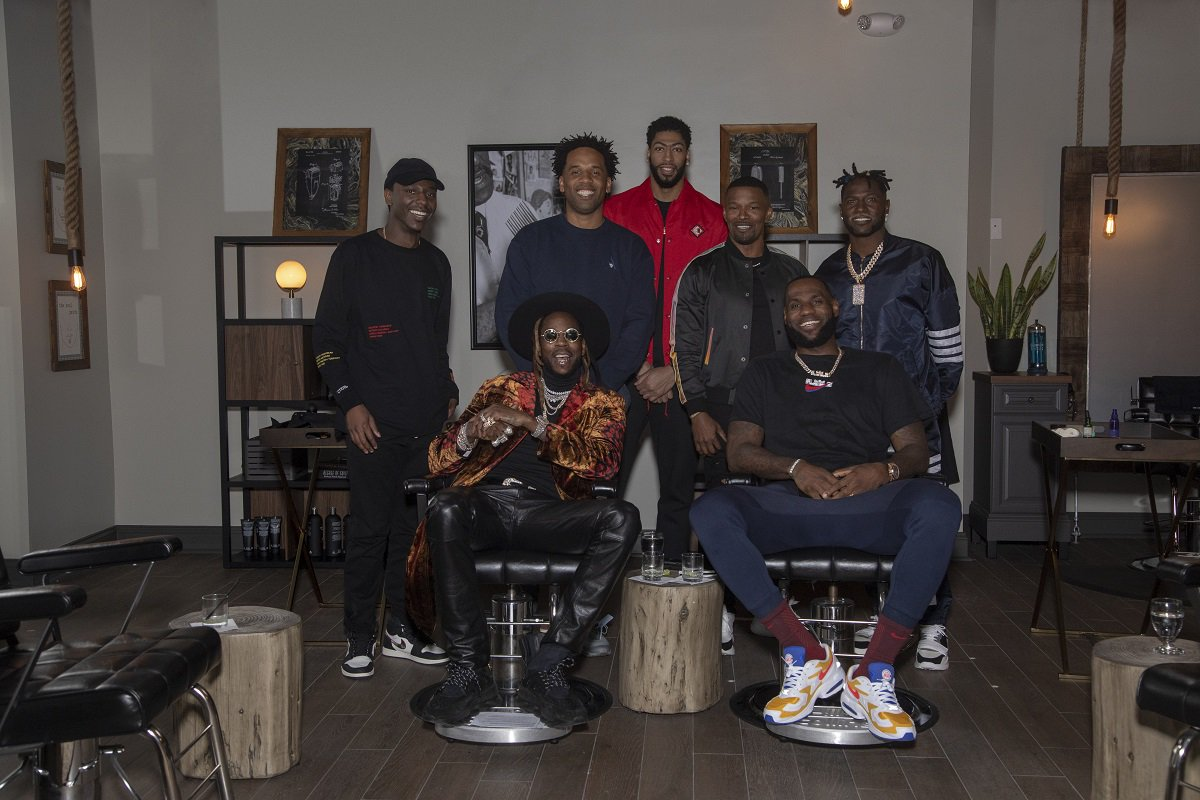 b69993724e8b hbo s the shop returns with lebron james on mar 1 featuring appearances by  meek mill