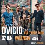 Image for the Tweet beginning: #VALENCIA Nuevo concierto!!! @dvicioficial en