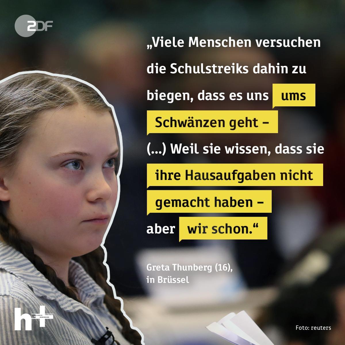 Woher kommt der Hass im Netz gegen #fridaysforfuture? Gleich um 20.30 Uhr sprechen wir live mit @Luisamneubauer - auch über @GretaThunberg 👇