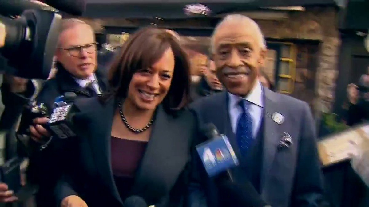 Kamala Harris and Al Sharpton refuse to answer questions about Jussie Smollett case.  When the story first happened she said this was a modern day lynching and defended Jussies character  What a joke! Race baiting phonys  Rt to agree IFB  @smalltownandrew