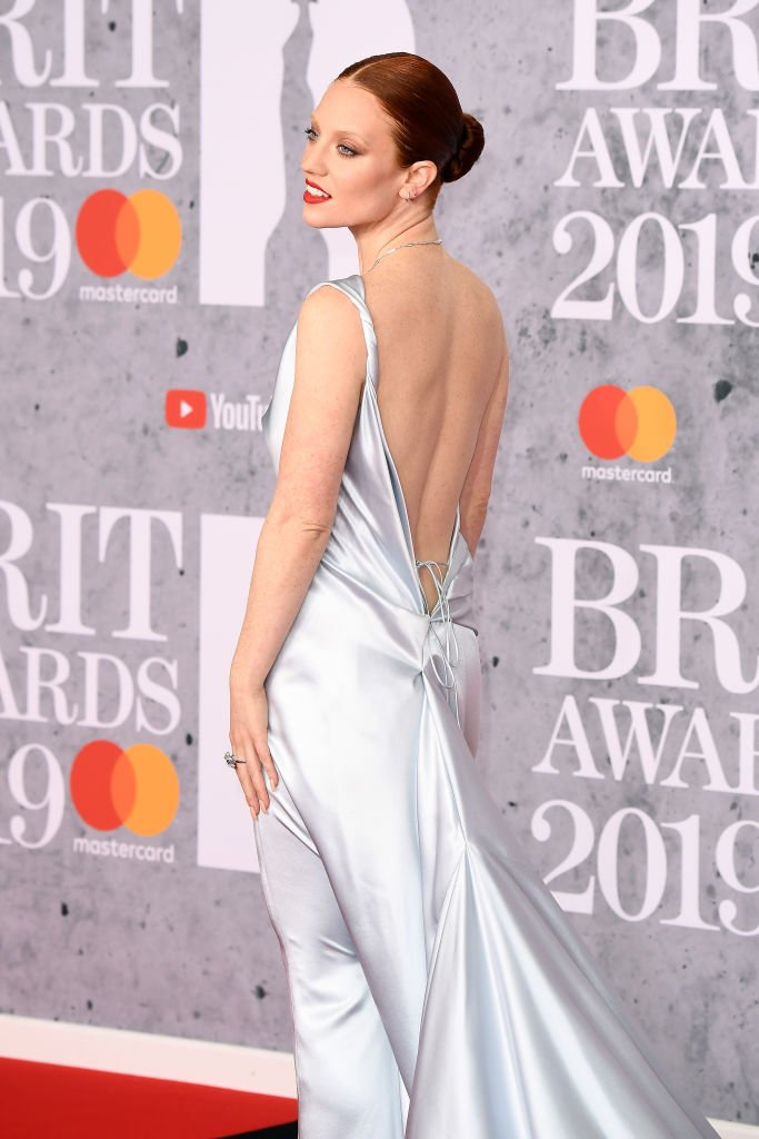 Jess Glynne In Vivienne Westwood Couture at The #BRITs  https://t.co/Jx7OI6bPr8