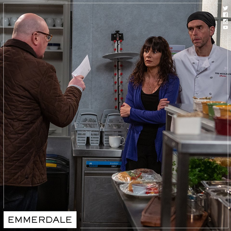 'I don't want to know as it makes no difference to me.' Is Bear Wolf Paddy's dad? #Emmerdale