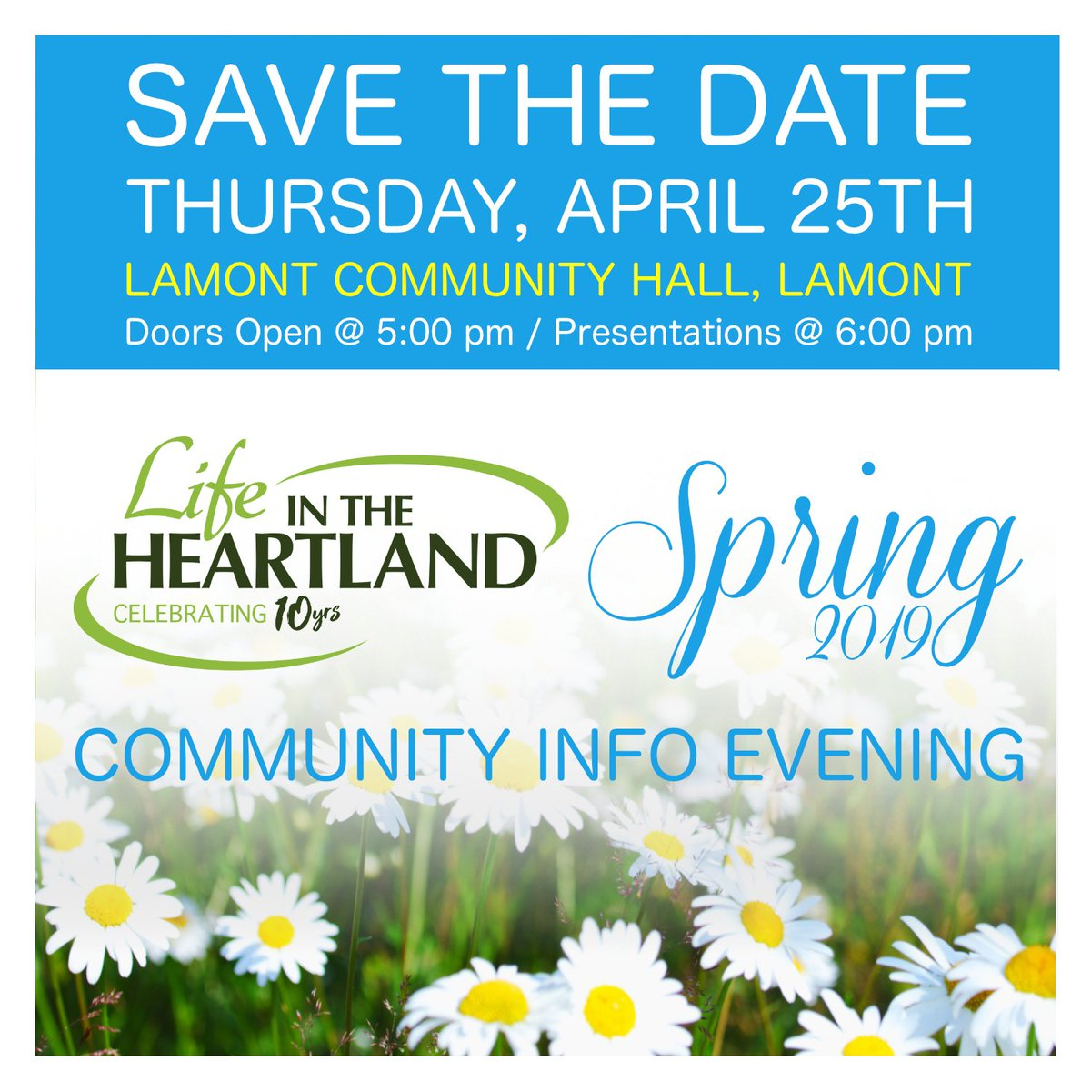 Save the Date - Community Info Evening