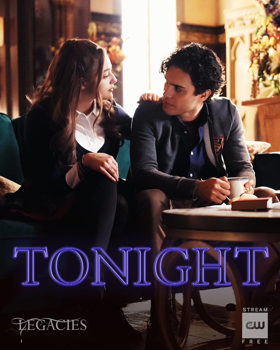 It takes two to duet. #Legacies is new TONIGHT at 9/8c! Stream free tomorrow on The CW App. <br>http://pic.twitter.com/2E1Ld7q3wB