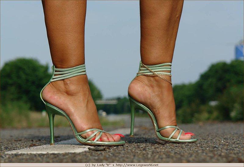 Really. join Lady barbara high heels