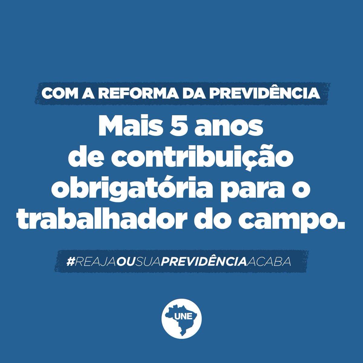 Isso é o que propõe a nova reforma da previdência. Um show de absurdos! #ReajaOuSuaPrevidênciaAcaba Saiba mais:  https://t.co/nx60gYInuC