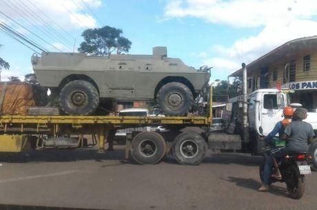 Crise: Venezuela reforça presença militar na fronteira com o Brasil https://t.co/r94cku3nrL