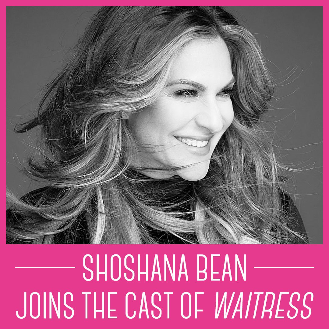 Powerhouse @ShoshanaBean joins the cast of Waitress on Broadway as Jenna! Don't miss her March 18 - May 12.