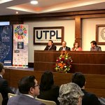 Image for the Tweet beginning: .@LeonardoIzquie8, docente #UTPL; Juan Carlos