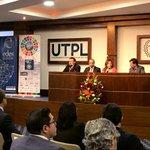 Image for the Tweet beginning: .@LeonardoIzquie8, docente #UTPL; Juan Carlos