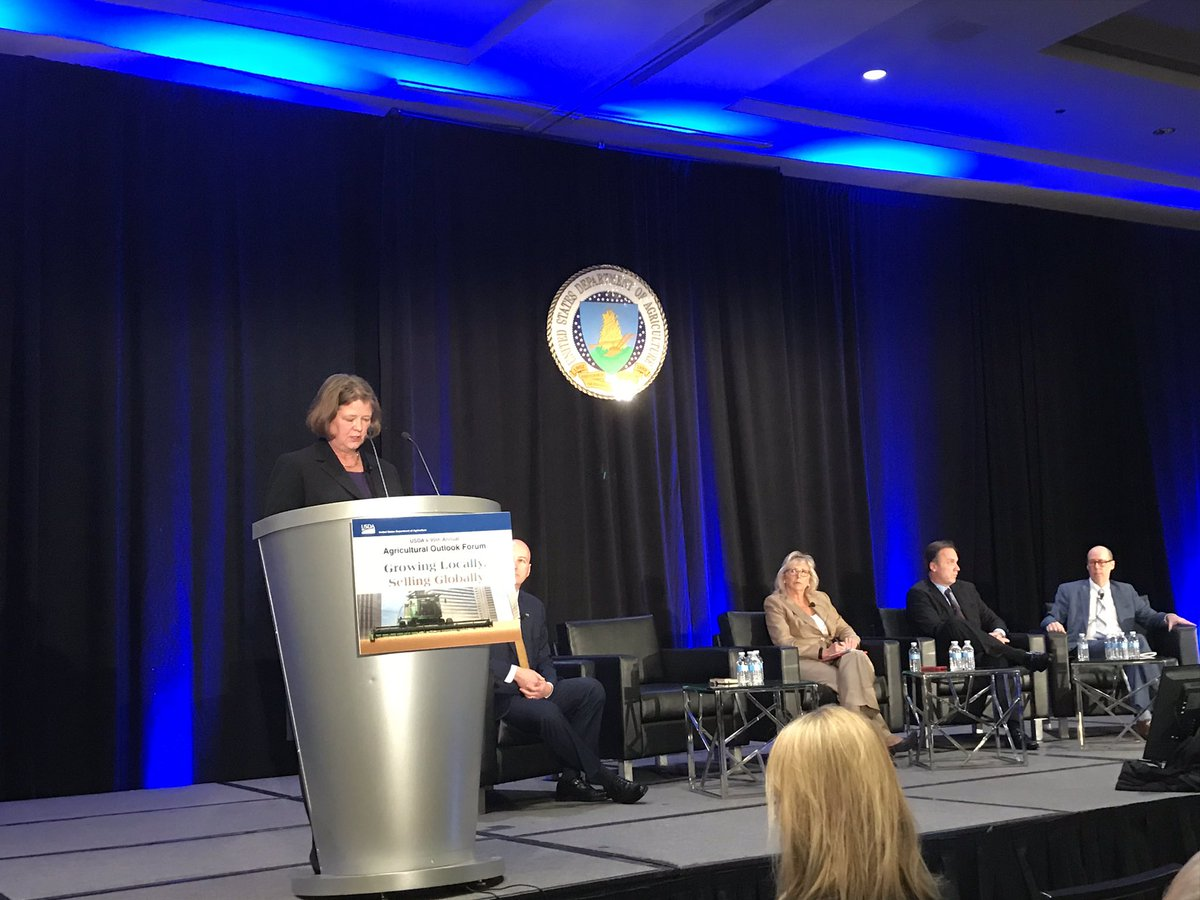 "#AgOutlook: NASDAnews CEO Barbara Glenn, ""the current regulatory process is putting U.S. farmers and ranchers at a disadvantage."""