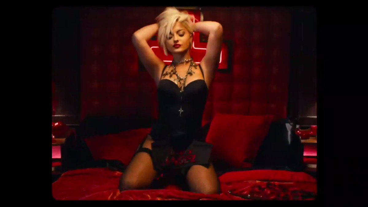 IT'S HEREEEEE!! The #LastHurrahVideo is officially out now!! 🔥😈 💨🥂💰🥵🌪💄 https://bebe-rexha.lnk.to/LastHurrah-MV
