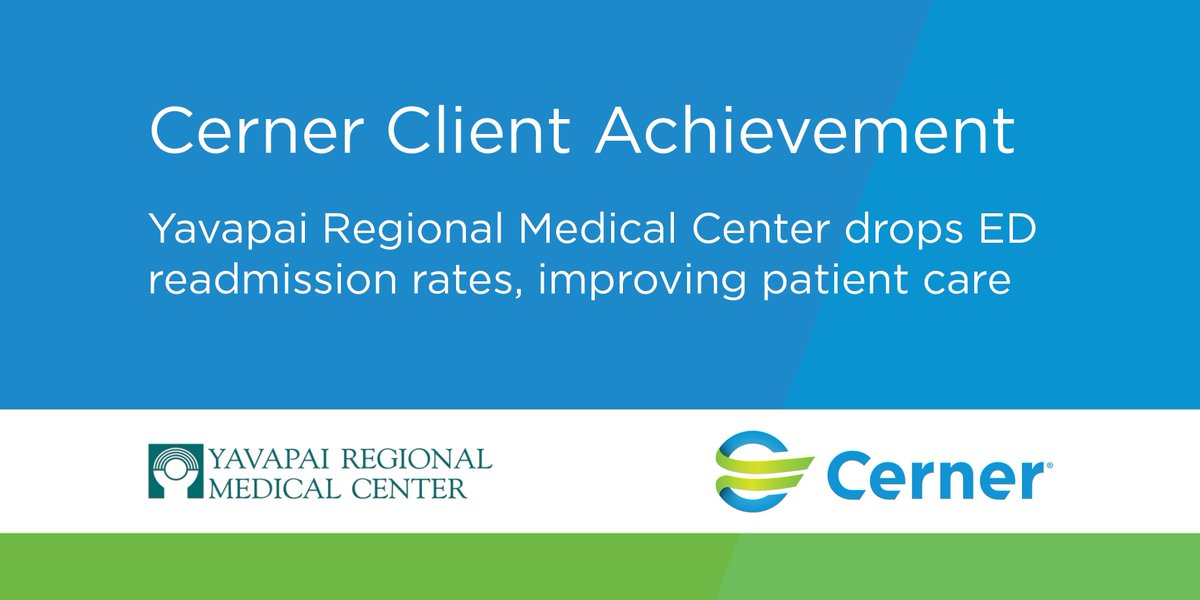 After collaborating with Cerner ITWorks to embed new alerts into their workflow, @YRMCquadcities effectively reduced readmits within 72 hours from 10% to 2.7%.   Read more about their efforts to improve patient care: http://bit.ly/2tuBYCB
