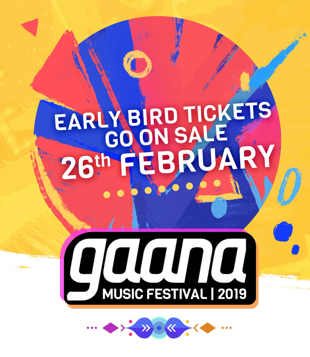 The largest Indian music festival in North America is returning soon, and we're thrilled to announce that limited Early Bird tickets for Gaana Music Festival 2019 will be on sale, starting 26 February. Early Bird tickets are priced at 20% lower than regular pricing!