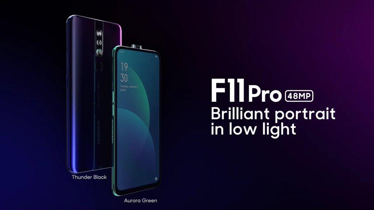 OPPO F11 Pro يأتي بنسبة 90.9 في المئة من نسبة الشاشة إلى الجسم