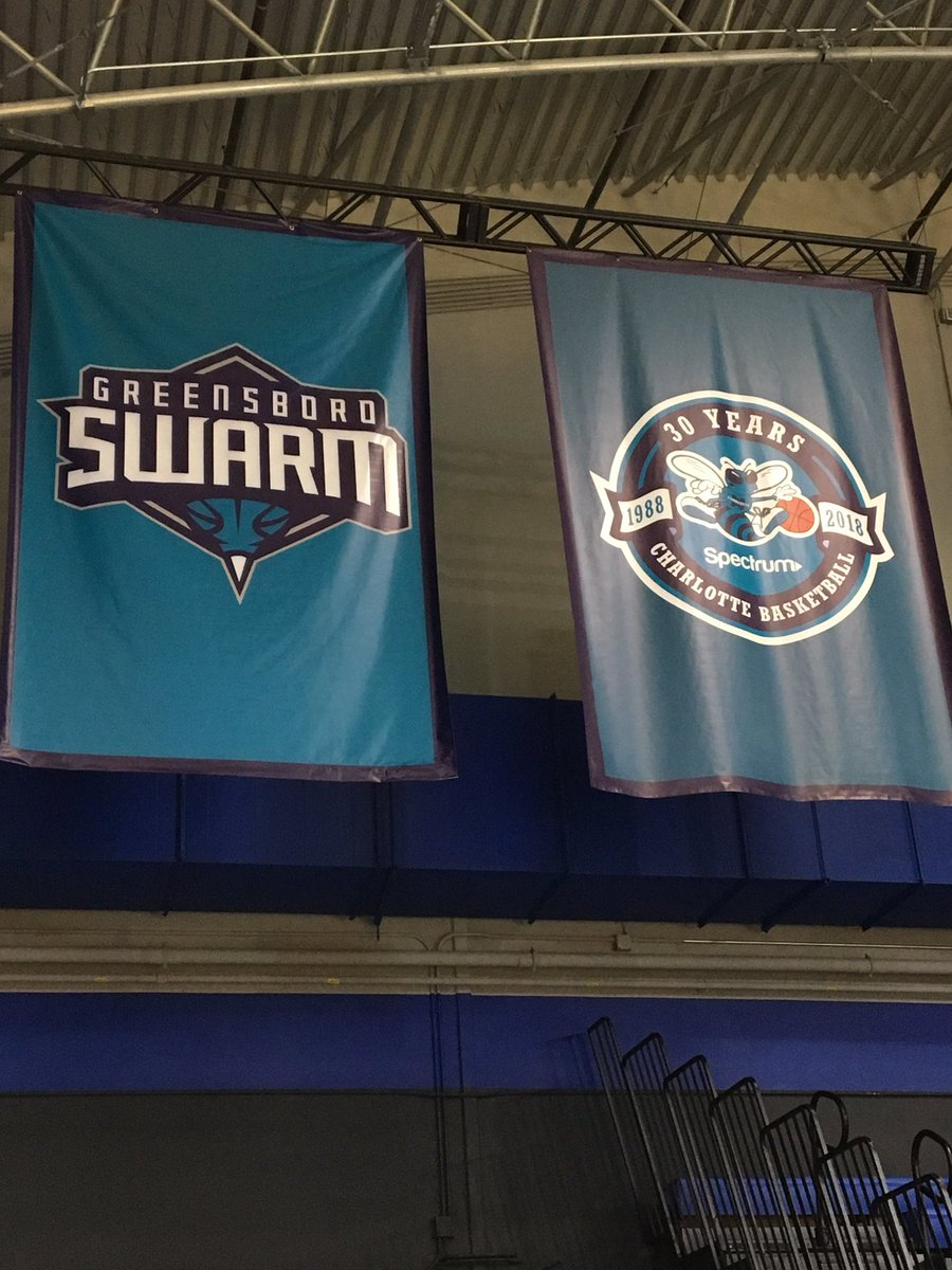 .@USABasketball will practice and play their final 2 @FIBAWC Qualifying games at The Fieldhouse, home of the #NBAGLeague's @GreensboroSwarm 🐝   @GreensboroSwarm ↔️ @Hornets – at The Fieldhouse - Home of the Greensboro Swarm