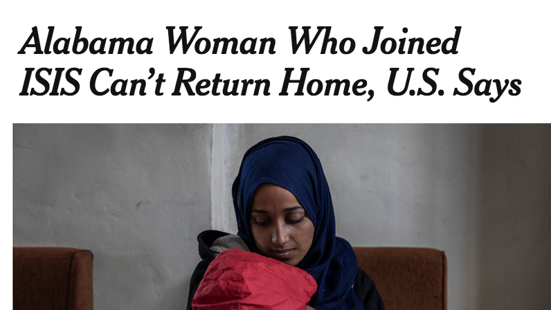 We sympathize -- 'Sweet Home Islamic Caliphate' is a terrible song.