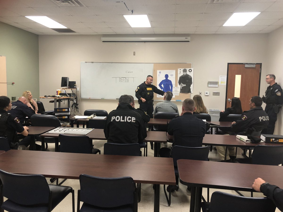 We're here today @HCSOTexas Training Academy as our K-9 Unit will be graduating today!! 🥳🐶👏🏽 #congratulations #exciting