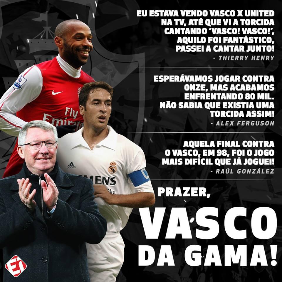 O Vasco é GIGANTE! 👊