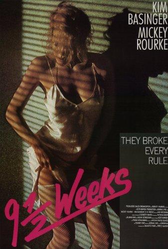 Feb 21, 1986: 9 1/2 Weeks was released in U.S. theaters. #80s