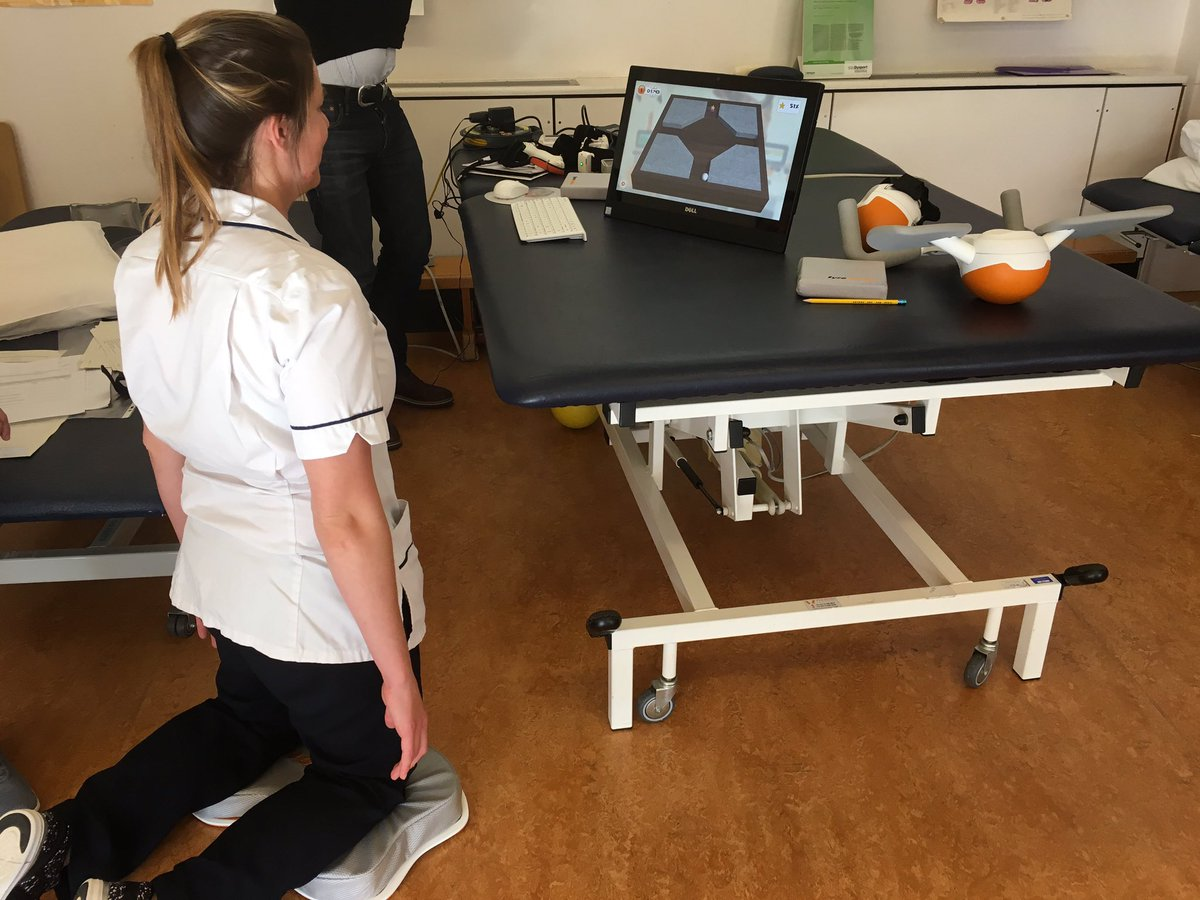 @RFL_NRC @RoyalFreeNHS great to have demo today from @Ectron to try Pablo and Tymo. Great feedback from patients