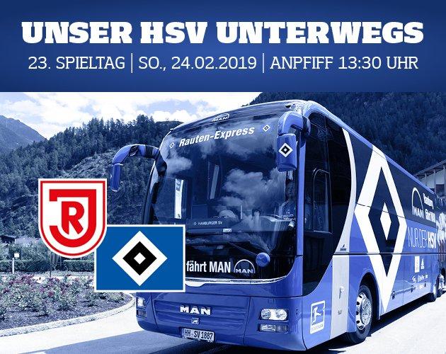 Du fährst am Wochenende zum Auswärtsspiel nach Regensburg? Hier findest du viele Informationen für deinen Stadionbesuch. Viel Spaß und gute Fahrt! 👉:http://www.hsv.de/unterwegs