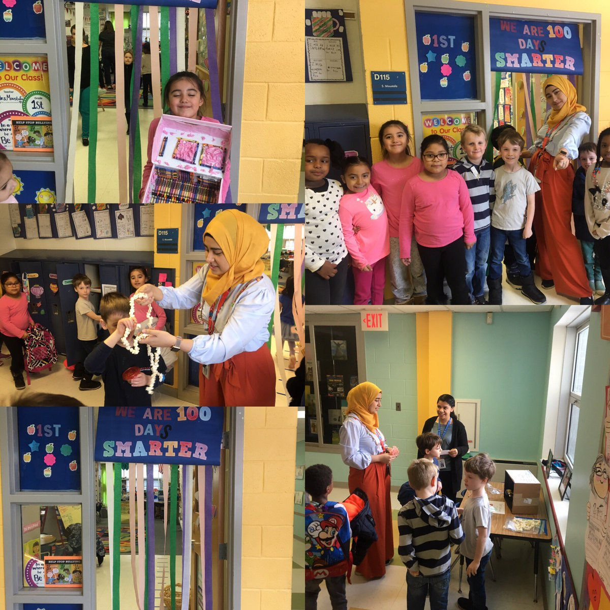 Mrs. Moustafa's class celebrates the 100th day of school😀<a target='_blank' href='http://twitter.com/GlebeAPS'>@GlebeAPS</a> <a target='_blank' href='http://twitter.com/GlebeITC'>@GlebeITC</a> <a target='_blank' href='http://search.twitter.com/search?q=APS100Days'><a target='_blank' href='https://twitter.com/hashtag/APS100Days?src=hash'>#APS100Days</a></a><a target='_blank' href='http://twitter.com/Glebepta'>@Glebepta</a> <a target='_blank' href='https://t.co/EePMAHxUnl'>https://t.co/EePMAHxUnl</a>