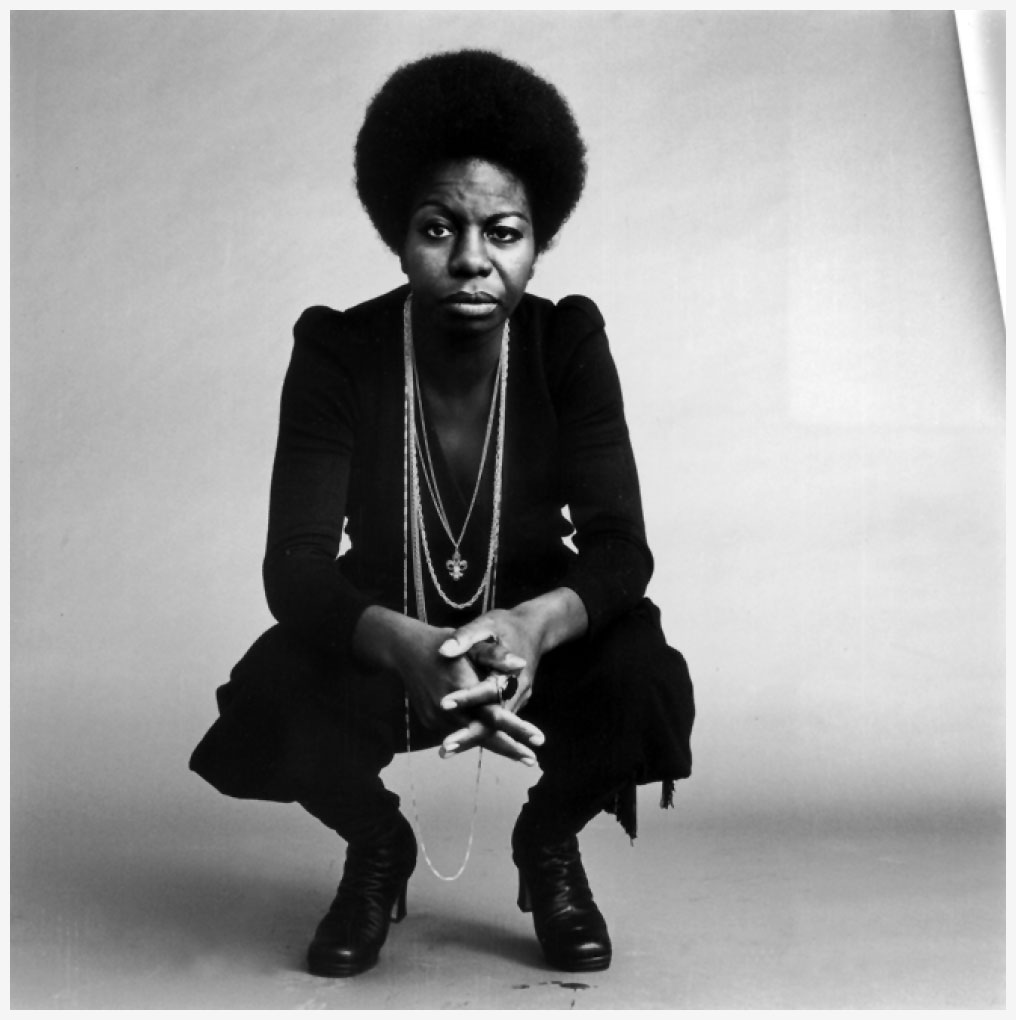 """""""I'll tell you what freedom is to me. No fear."""" —Nina Simone"""